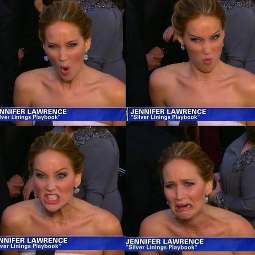 Najfajniejsze momenty Jennifer Lawrence z 2013 roku