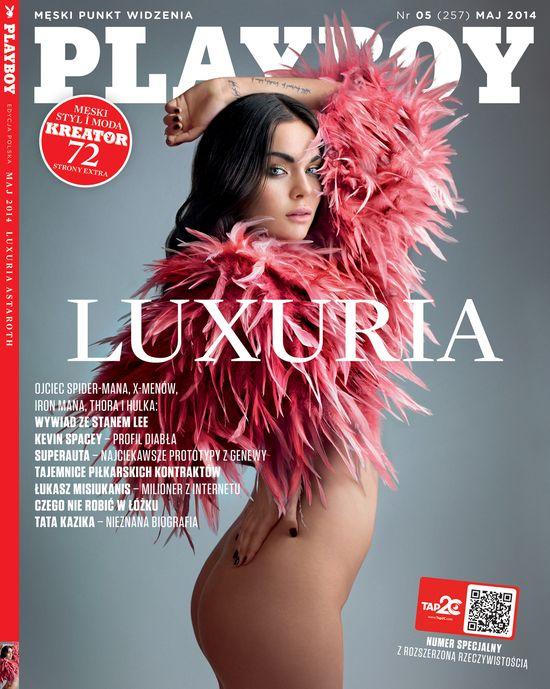 Luxuria Astaroth w najnowszym Playboyu! (VIDEO)