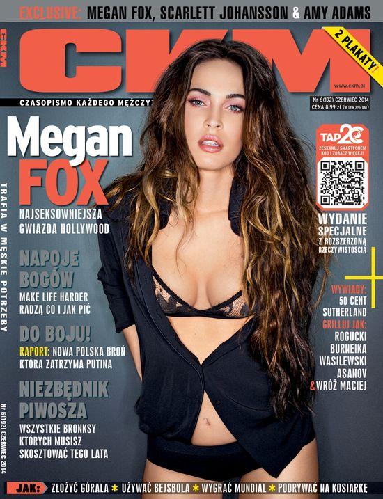A na okładce nowego CKM... seksowna Megan Fox!