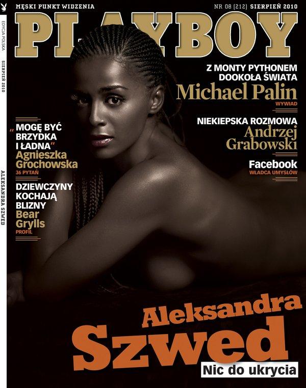 Naga Aleksandra Szwed na okładce Playboya (FOTO)