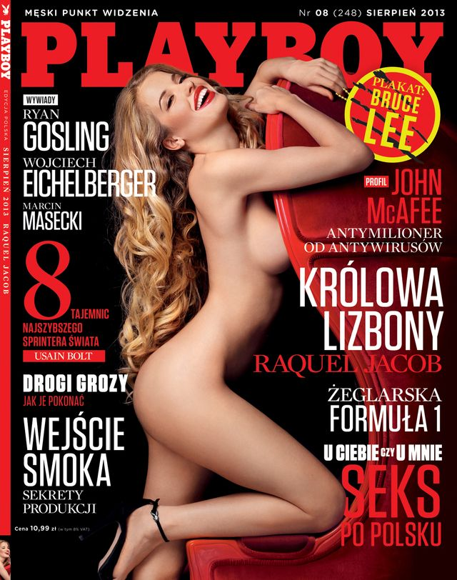 Nowy Playboy z Raquel Jacob (FOTO)