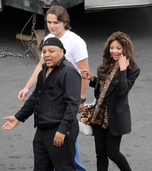 Prince Michael Jackson na planie serialu Beverly Hills 90210