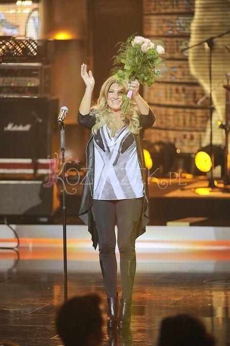 Beata Kozidrak w ��ku na sopockiej scenie TOP Trendy (FOTO)