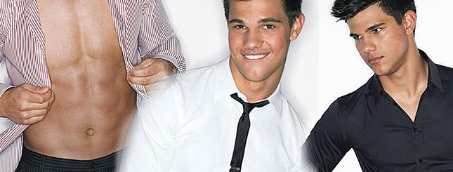 Taylor Lautner zostanie modelem samego Armaniego