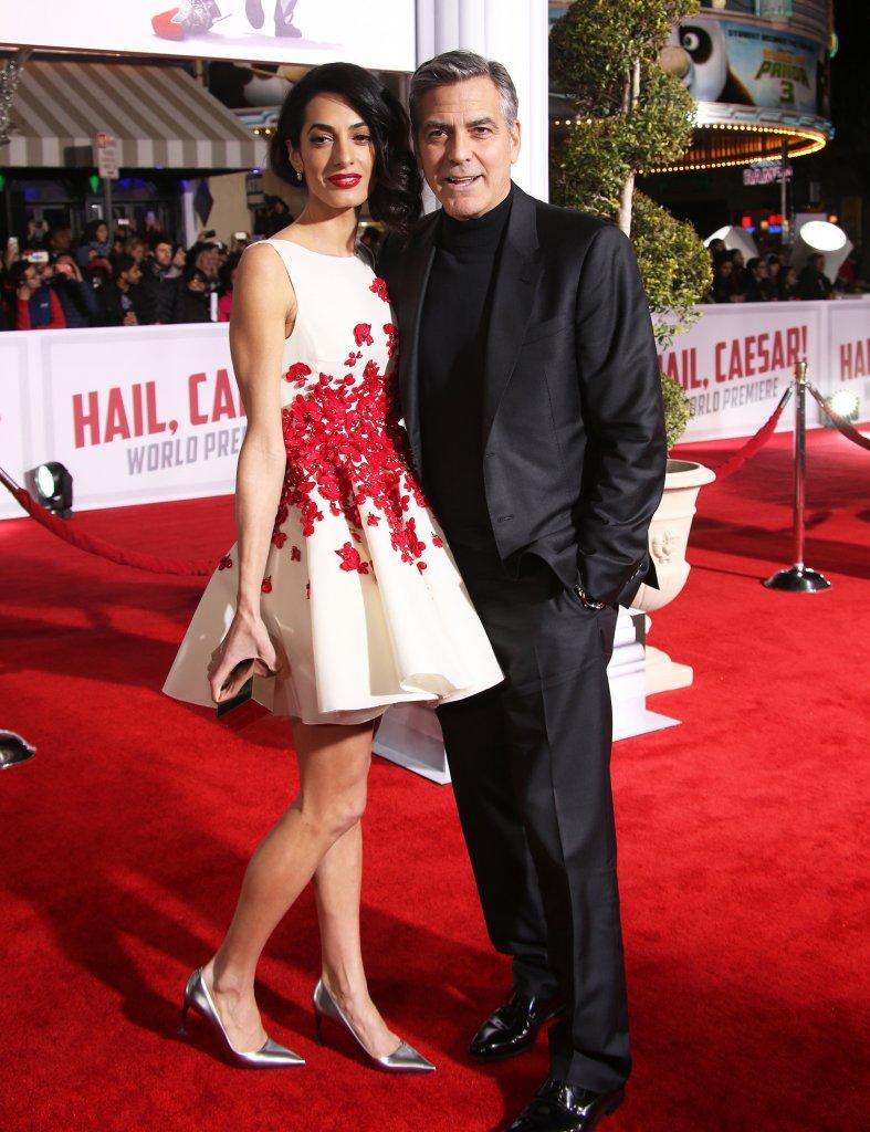 George Clooney ożenił się z prawniczką Amal Alamuddin w 2014 roku.