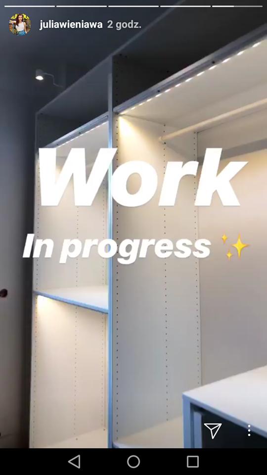 Julia Wieniawa pokazała GIGANTYCZNĄ garderobę w nowym mieszkaniu!