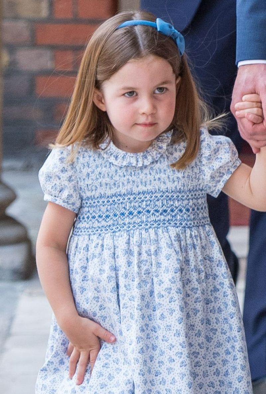 Księżniczka Charlotte jest nie wychowana?! Robiła TO na 100-leciu RAF!