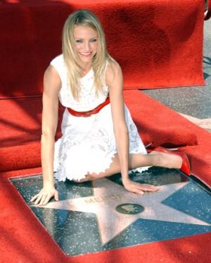 Cameron Diaz doczekała się swojej gwiazdy (FOTO)