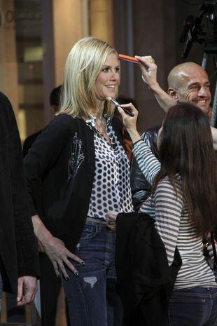 Heidi Klum w groszki (FOTO)