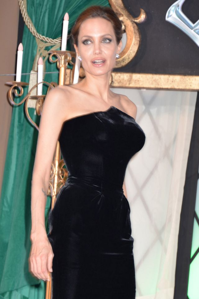 "Angelina Jolie i Elle Fanning na japońskiej premierze filmu ""Maleficent"""