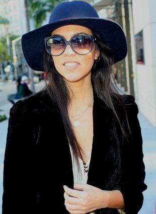 Kourtney Kardashian z wielkim brzuchem na zakupach
