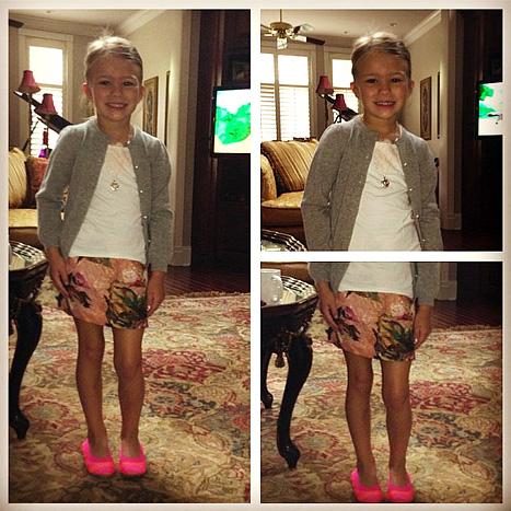 Siostrzenica Britney Spears skończyła 5 lat (FOTO)