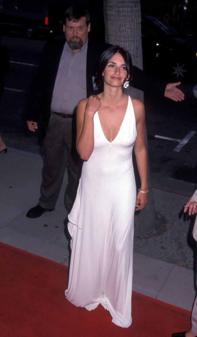 Penelope Cruz 15 lat temu