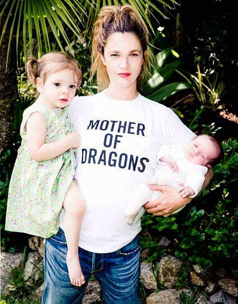 Drew Barrymore po ciąży schudła o połowę! (FOTO)