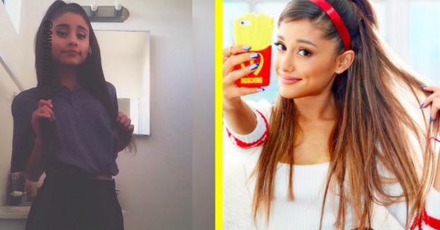 Atak klonów! Ariana Grande inspiruje dziewczyny swoim stylem