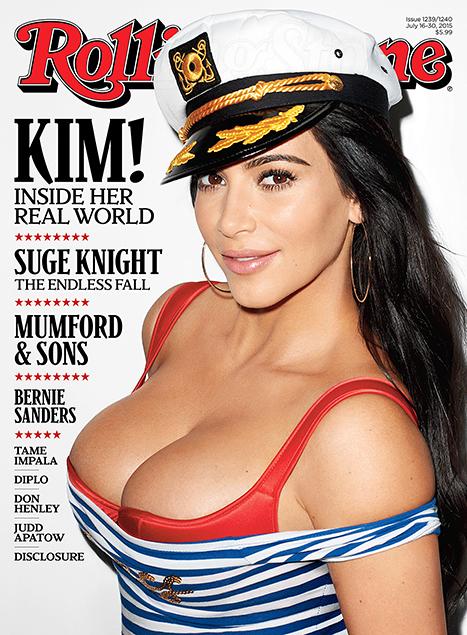 Okładka Kim dla Rolling Stone w ogniu krytyki (FOTO)