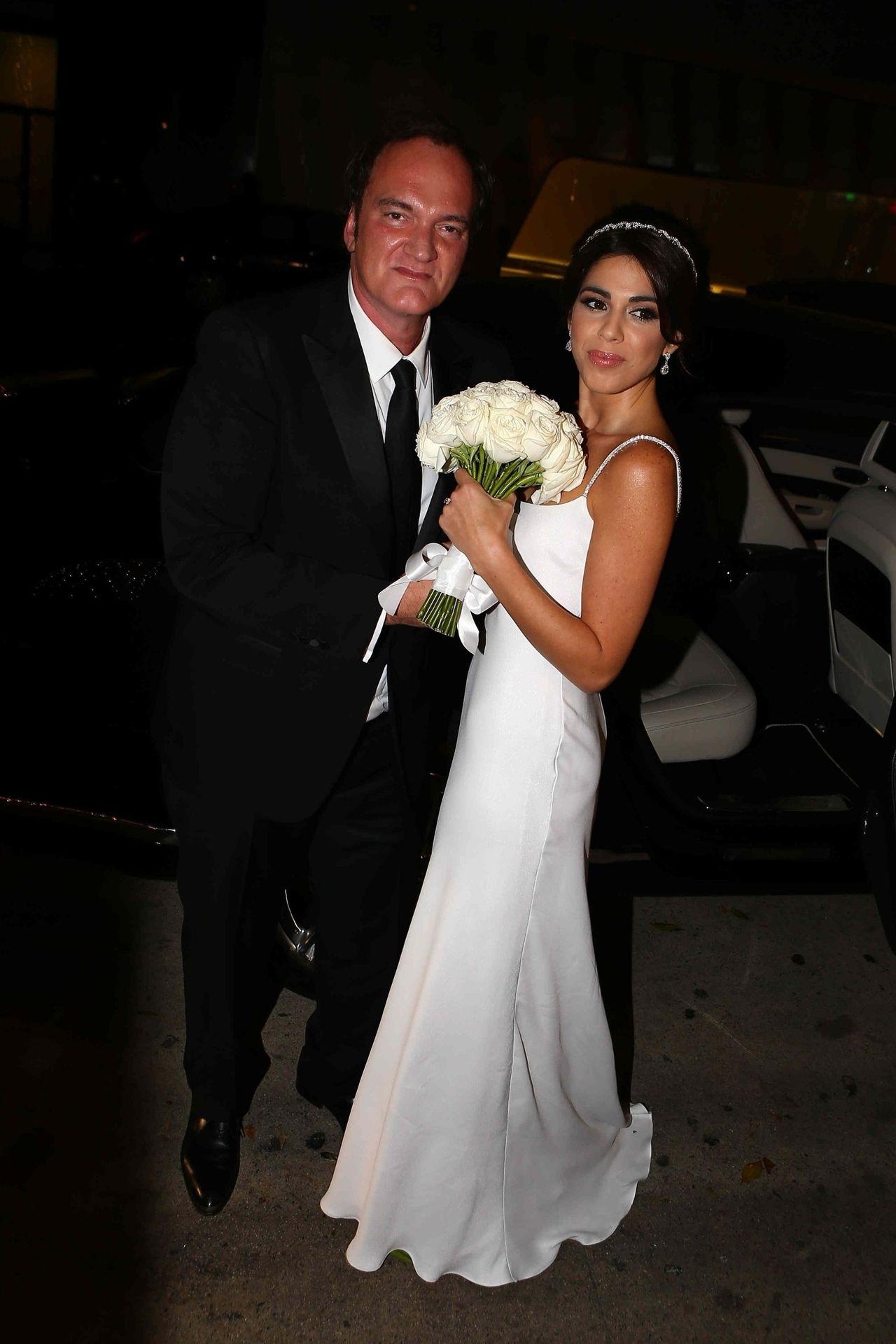Ślub Quentina Tarantino i Danielli Pick