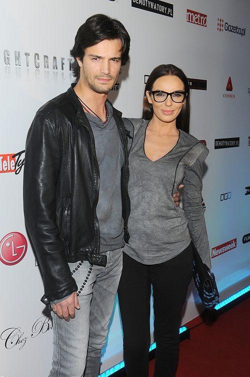 Włodarczyk i Krawczyk wybrali się do kina (FOTO)