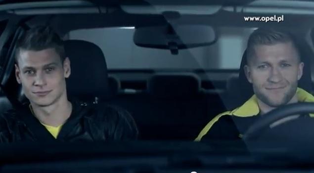 Lewandowski, Błaszczykowski i Piszczek w reklamie auta