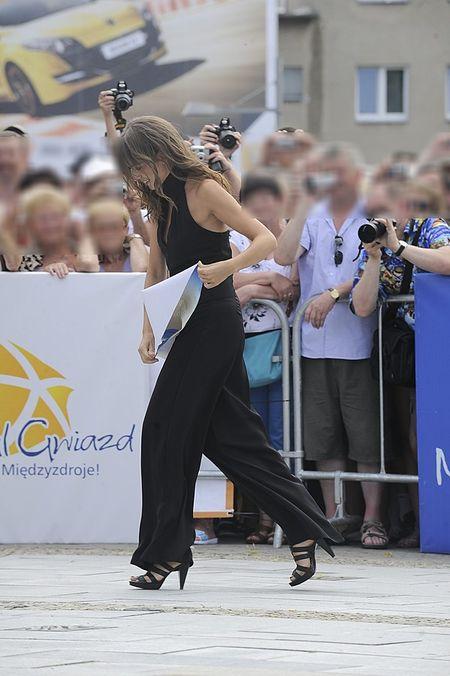 Anna Przybylska na Festiwalu Gwiazd w Międzyzdrojach
