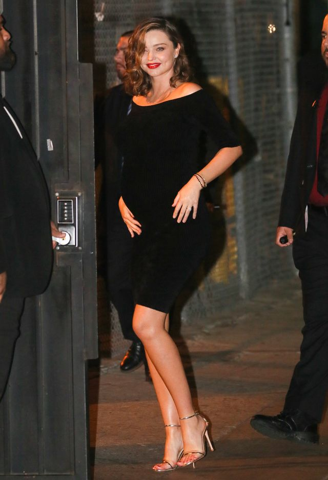 Miranda Kerr z ciążowym brzuszkiem