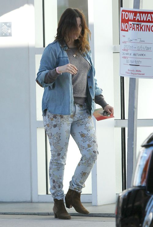 Drew Barrymore bez makijażu (FOTO)