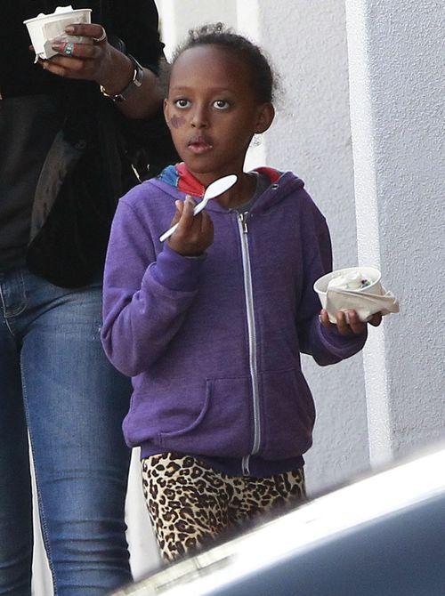 Córki Angeliny Jolie to już duże dziewczynki (FOTO)