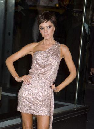 Victoria Beckham chwieje się na obcasach