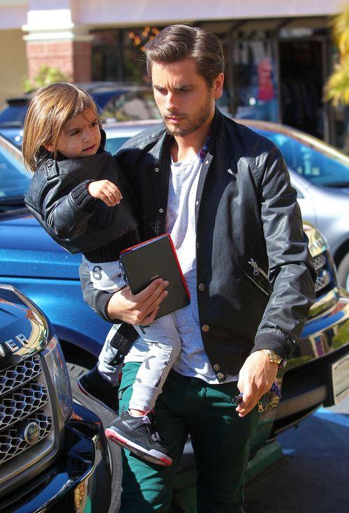 Scott Disick zabra� syna na m�ski obiad (FOTO)