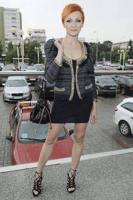 Anna Wyszkoni w świetnej formie po porodzie (FOTO)