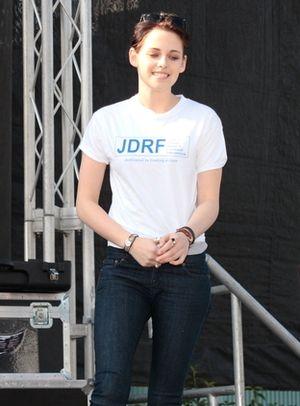 Kristen Stewart wspiera ludzi chorych na cukrzycę