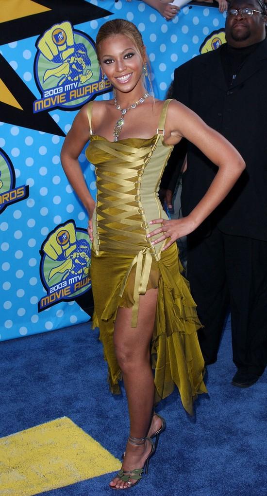 Beyonce 10 lat temu