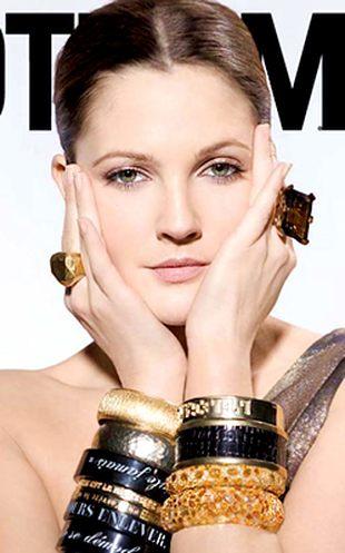 Drew Barrymore w Gotham Magazine (FOTO)