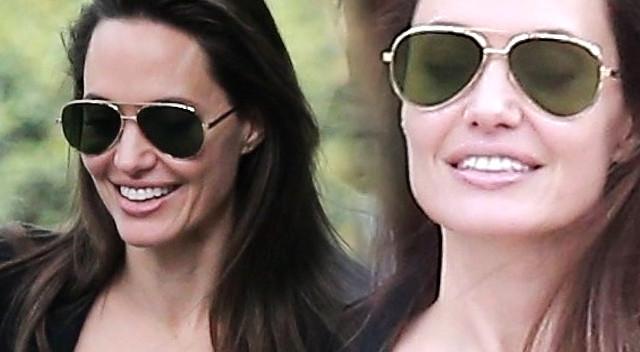 Szczęśliwa Angelina Jolie z NAJWAŻNIEJSZYM mężczyzną jej życia (ZDJĘCIA)