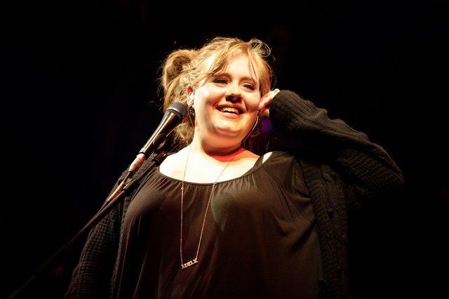 Adele zanim została wielką gwiazdą