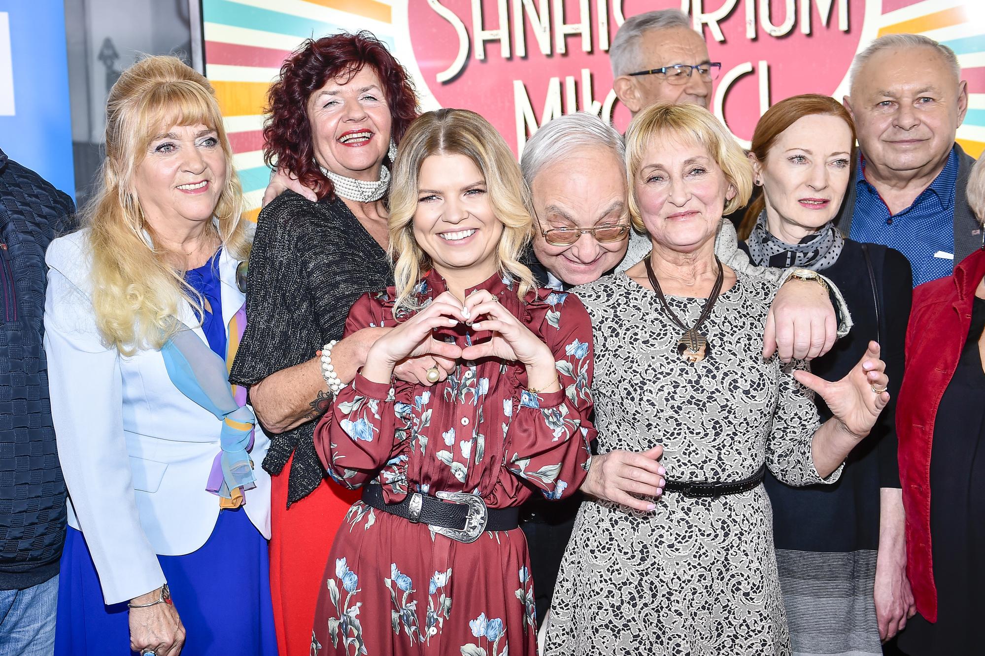 Uczestnicy programu Sanatorium miłości