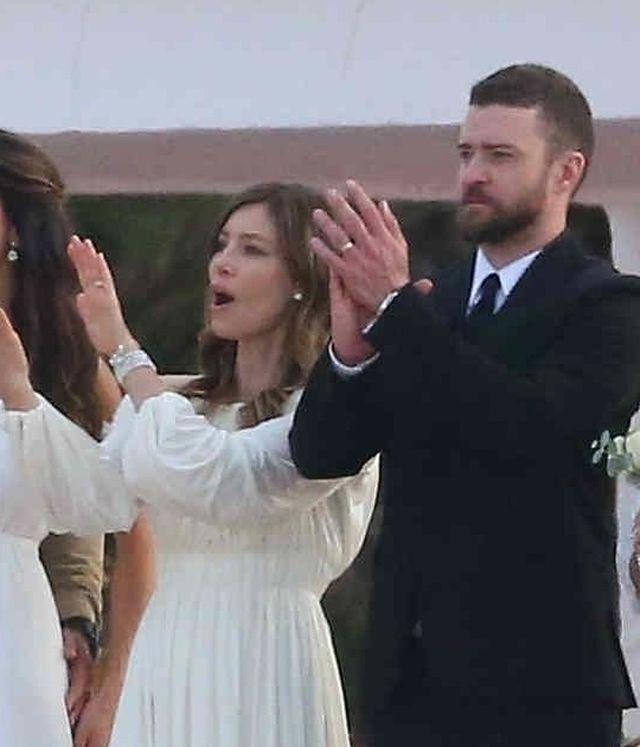 Jessica Biel z Justinem Timberlake'iem na weselu jej brata (ZDJĘCIA)