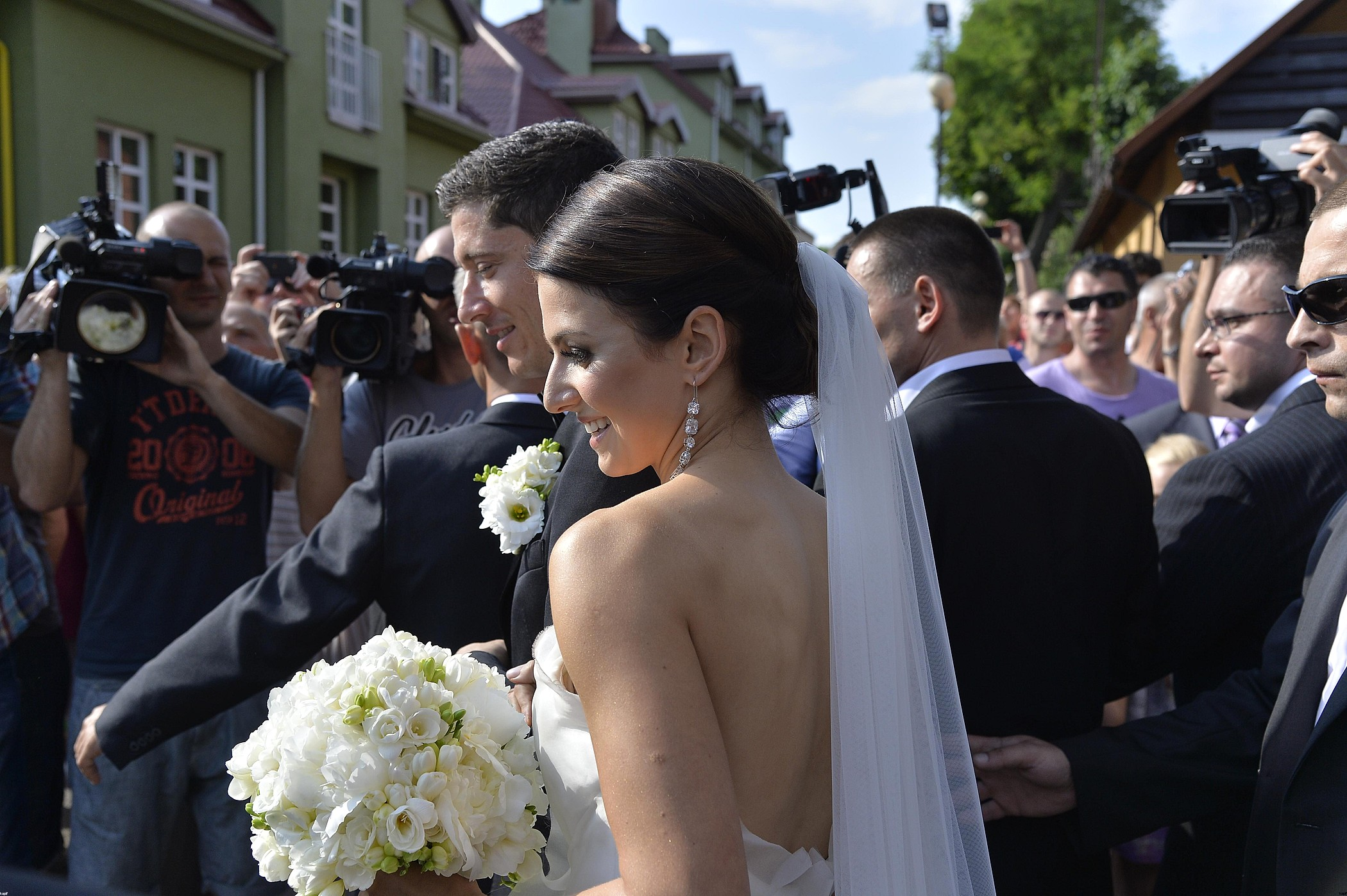 Anna Lewandowska i Robert Lewandowski – ślub