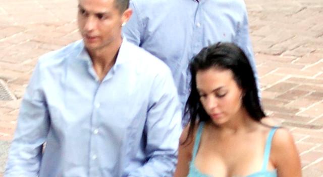 Cristiano i Georgina Rodriguez w SEKSOWNEJ sukience poszli na randkę (ZDJĘCIA)
