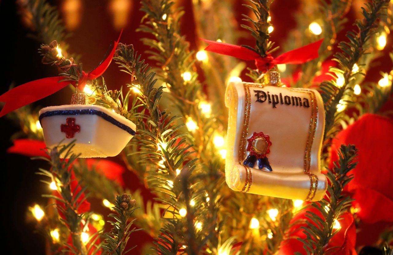 Melania Trump pokazała świąteczne dekoracje w Białym Domu