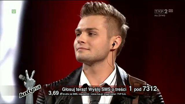 Gracjan Kalandyk, The Voice of Poland
