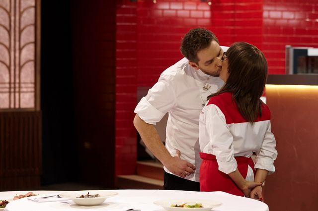 Żona Wojciecha Amaro o jego pocałunku w Hell's Kitchen!