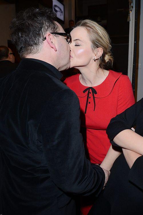 Dziennikarka i aktor publicznie okazują sobie uczucia (FOTO)