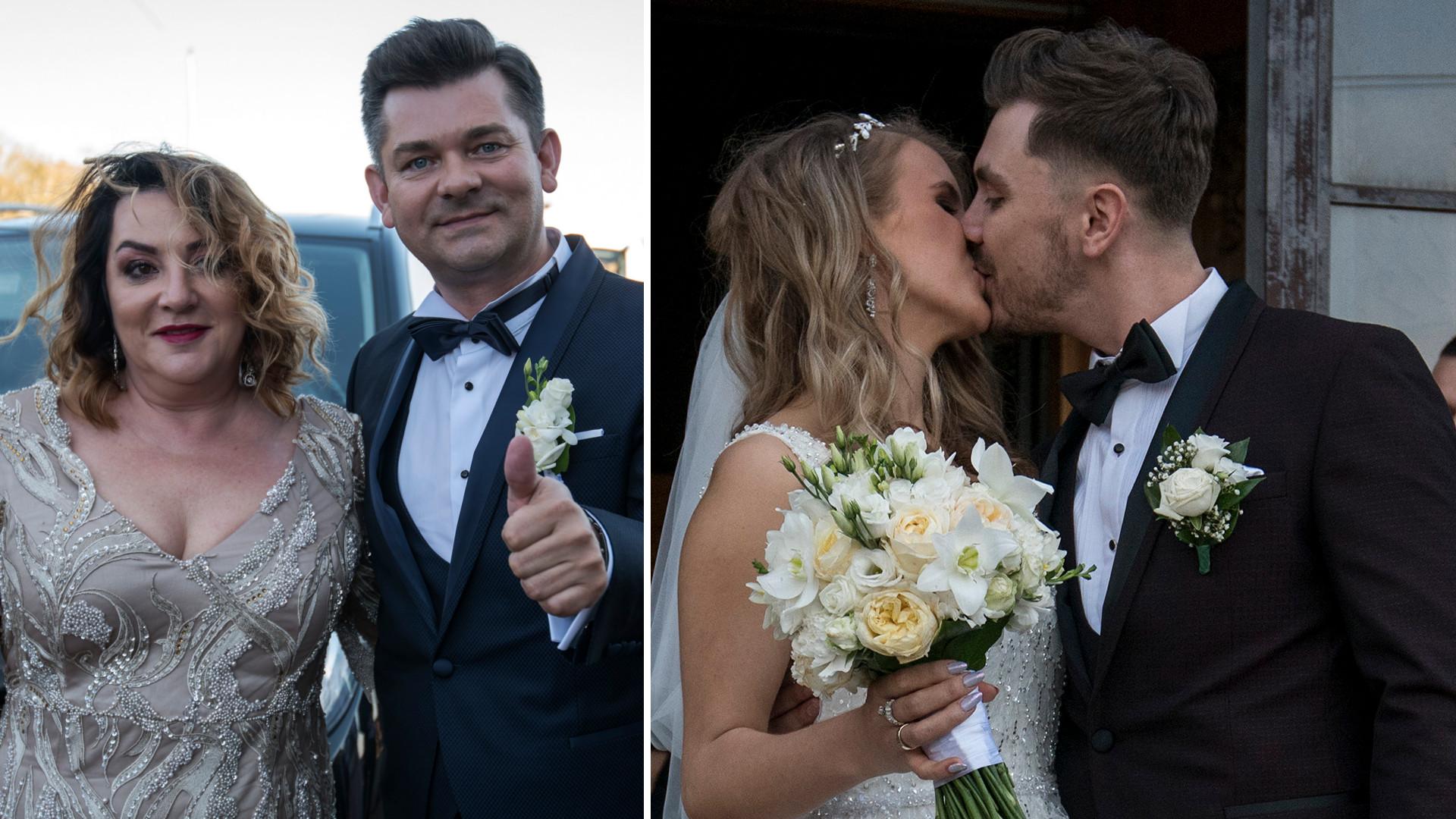 Ślub syna Zenka Martyniuka, Daniela, z Eweliną Golczyńską