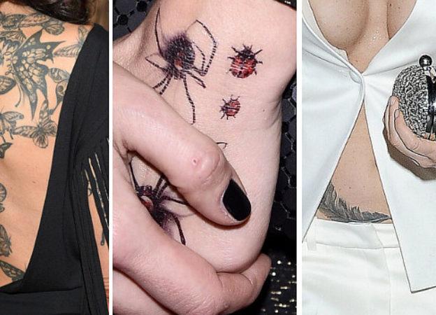 Kto ma pająka na dłoni, a kto motyle na plecach?