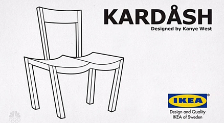 IKEA strolowała Kanye Westa!