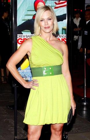 Zielona Jennie Garth (FOTO)