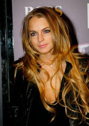 Lindsay Lohan ostro imprezuje