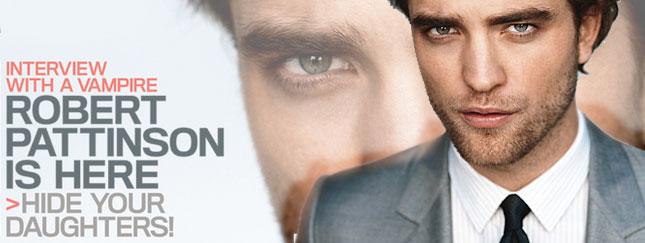 Robert Pattinson w kwietniowym GQ (FOTO)