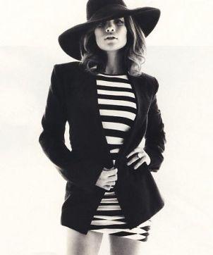 Czarno - biała Jennifer Lopez (FOTO)